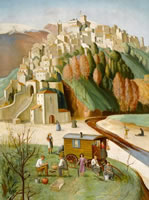 Artist Hilda Mary Harvey: Cagnes Sur Mer, The French Riviera, 1922-1946