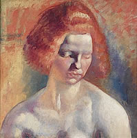 Artist Clara Kinghoffer: Portrait of Rose, 1919